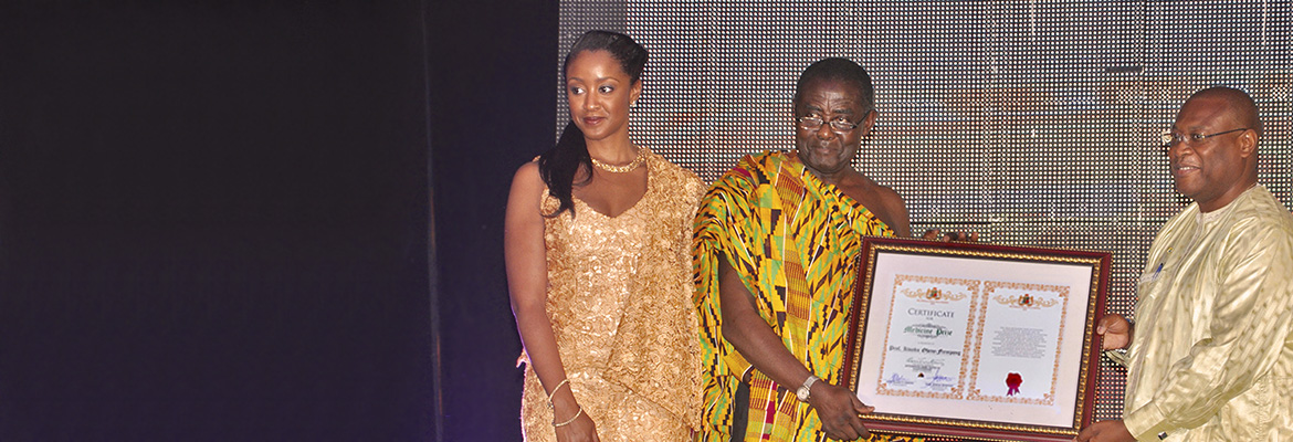 Kwaku Ohene-Frempong, MD, Receives Ghana Millennium Excellence Award